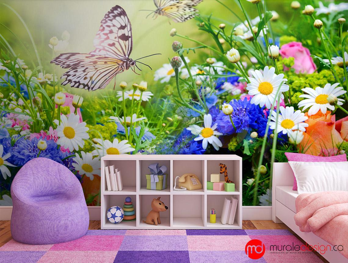 Idées déco pour une chambre d\'enfant | Muraledesign.ca