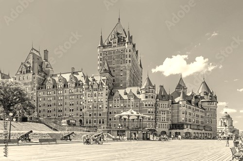 Chateau Frontenac in Old Quebec City, Canada.