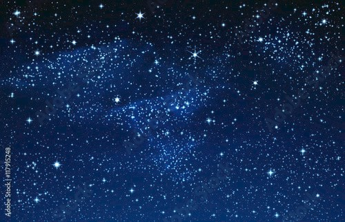 Starry Sky and Galaxy