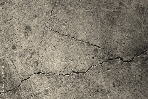 Crack concrete texture surface background.