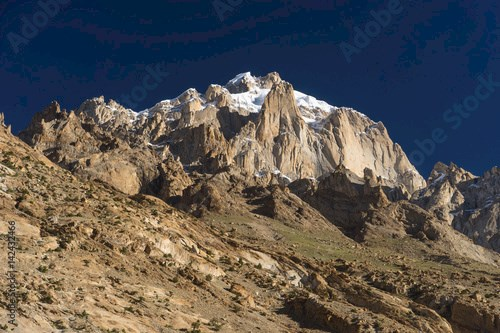 Paiju mountain peak, one of iconic peak in K2 trekking trail, Pakistan
