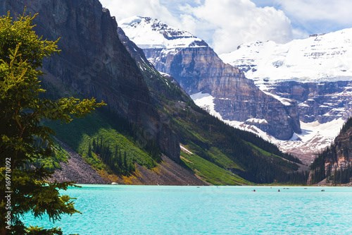 Lake Louise in Banff National Park, Alberta, Canada