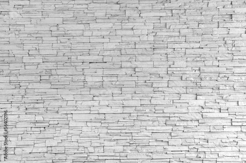 White Stone Tile Texture Brick Wall