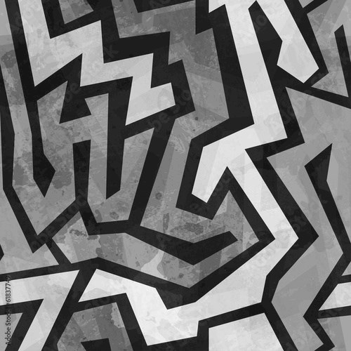 grunge graffiti seamless pattern