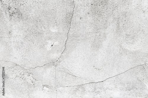 Background texture of grungy concrete wall with white paint