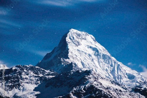 Himalayan mountain peak ..